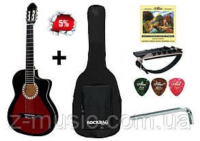 Гитара классическая полноразмерная (4/4) Almira CG-1702C RD (комплект)