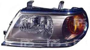 Фара передняя для Mitsubishi Pajero Sport '00-08 Sport левая (DEPO) под электрокорректор