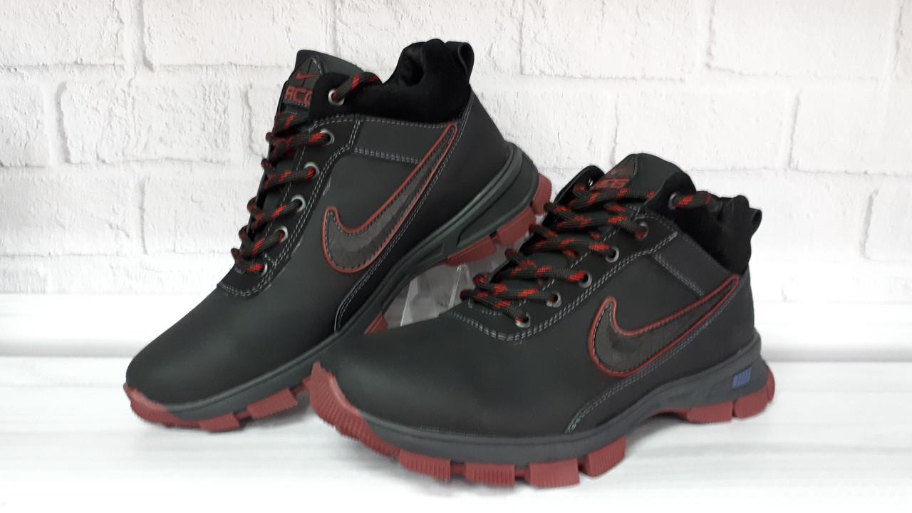 4db377944ce6 Зимние мужские кожаные кроссовки Nike. Харьков  продажа, цена в ...