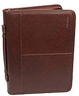 Папка с блокнотом и калькулятором Professional S757.23 коричневая