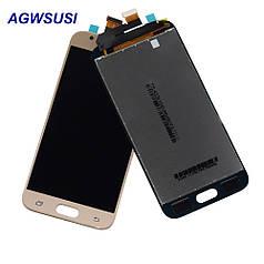 Дисплей экран модуль для замены на Samsung GH96-10990A J330 Galaxy J3 (2017) с сенсором золотистый сервисный