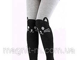 """Модные колготки для девочек """"Малыш"""". Кошечки на коленках."""