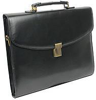 Портфель деловой из искусственной кожи 4U Cavaldi B-195 черный , фото 1