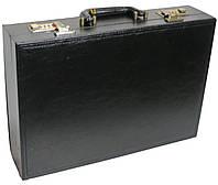 Мужской кейс-дипломат из эко кожи 4U Cavaldi черный A2101MA