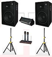 "Комплект акустики Sound Division для школ, кафе, дискотеки DJ-15SA244+ 700Вт, 15"""