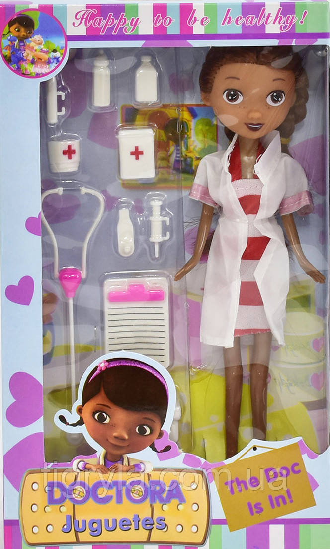 Лялька Доктор Плюшева