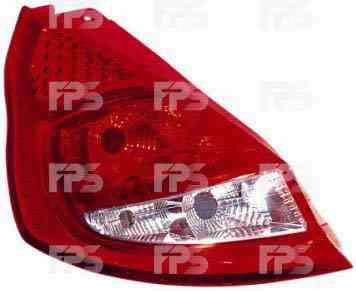 Фонарь задний для Ford Fiesta '09- левый (DEPO)