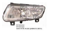 Противотуманная фара для Volkswagen Polo 7 '09- левая (Depo) без дневн. света
