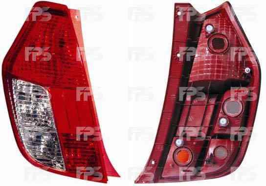 Фонарь задний для Hyundai i10 '07-13 левый (FPS) под 4 лампочки