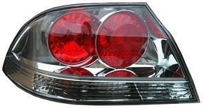 Фонарь задний для Mitsubishi Lancer IX '04-09 левый (DEPO) красно-белый, прозрачный