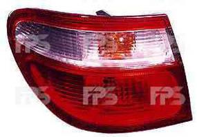 Фонарь задний для Nissan Almera седан (N1, N17) '00-06 левый (DEPO) внешний