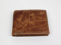 Мужское кожаное портмоне ALWAYS WILD SPRM032 Tan светло-коричневый, фото 1