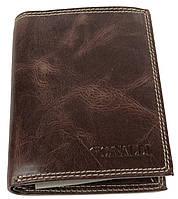 Мужское кожаное портмоне ALWAYS WILD SPRM034 Brown коричневый, фото 1