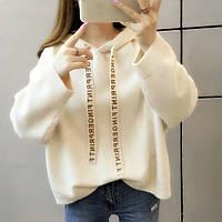 Теплый свитер с капюшоном, 3 цвета, фото 1
