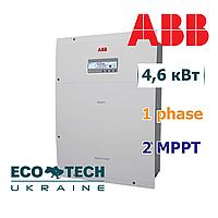 Солнечный инвертор ABB REACT-UNO-4.6-TL (4.6 кВт, 1 фаза, 2 трекера), фото 1
