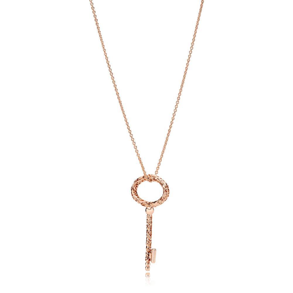Колье «Королевский ключ» Pandora Rose копия Pandora