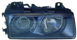 Фара передняя для BMW 3 E36 '90-94 левая (DEPO) механическая/под электрокорректор