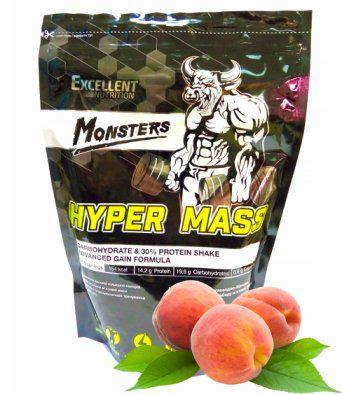 Гейнер Monsters Hyper Mass 30 % Protein 1 kg, фото 2