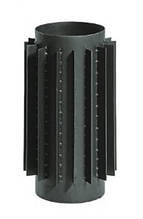 Радиатор для дымохода из низколегированной стали Darco L-1 м D-200 мм толщ. 2 мм