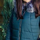 Длинное женское пальто на зиму 2018-2019 - (модель кт-271), фото 3