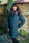 Длинное женское пальто на зиму 2018-2019 - (модель кт-271), фото 4