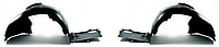 Подкрылок передний левый (задняя часть)