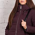 Зимнее пальто для девушек сезона 2018-2019 - (модель кт-345), фото 4
