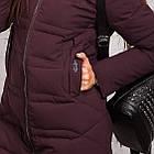 Зимнее пальто для девушек сезона 2018-2019 - (модель кт-345), фото 3
