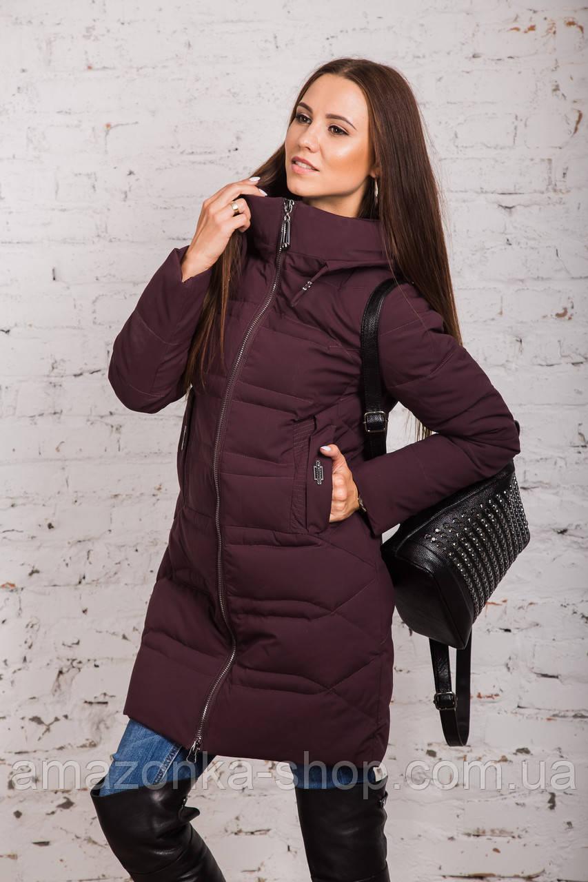 Зимнее пальто для девушек сезона 2018-2019 - (модель кт-345)