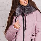 Удлиненное женское пальто 2018-2019 - (модель кт-294), фото 3