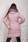 Удлиненное женское пальто 2018-2019 - (модель кт-294), фото 6