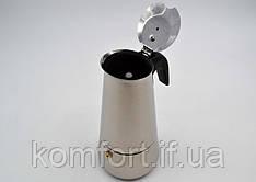 Кофеварка гейзерная  бытовая  WimpeX WX 6040 (на 6 чашек)