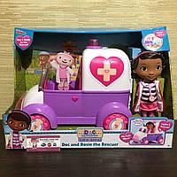 Набор кукла Доктор Плюшева и музыкальная скорая помощь РозиDoc McStuffins Toy Hospital Doc