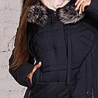 Качественное женское пальто с натуральным мехом 2018-2019 - (модель кт-338), фото 3