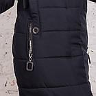 Качественное женское пальто с натуральным мехом 2018-2019 - (модель кт-338), фото 4