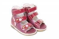 Босоножки детские. Ортопедическая обувь MEMO, модель VICKY pink (22-29)