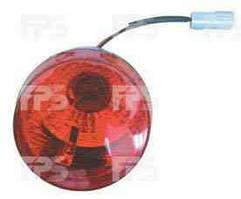 Фонарь задний для Chery QQ '03- левый (FPS) в бампере, с противотуманной фарой