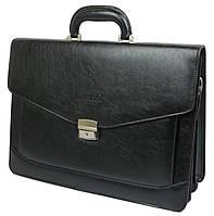 Мужской портфель из эко кожи Bellugio Польша T0017 черный