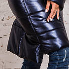 Стильное женское пальто с натуральным мехом - 2019 - (модель кт-329), фото 4