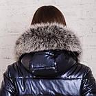 Стильное женское пальто с натуральным мехом - 2019 - (модель кт-329), фото 5