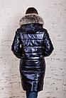 Стильное женское пальто с натуральным мехом - 2019 - (модель кт-329), фото 6