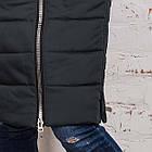 Стильное женское пальто с натуральным мехом - 2019 - (модель кт-329), фото 7