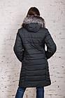 Стильное женское пальто с натуральным мехом - 2019 - (модель кт-329), фото 10