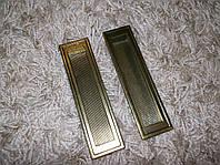 Врезная ручка на дверь бронза  D-105/128 G4