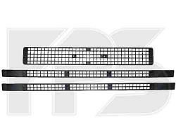 Решетки радиатора средняя+средняя+нижняя (3 шт) 96-