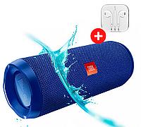 Портативная колонка JBL Flip 4 Quality Replica. Синий. Blue, фото 1