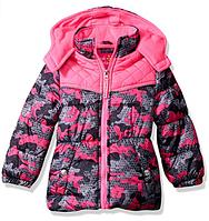Куртка Pink Platinum (США) розовая для девочки от 2 до 6 лет, фото 1