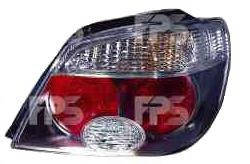 Фонарь задний для Mitsubishi Outlander '05-07 правый (DEPO) красно-белый, прозрачны (темн. корпус)