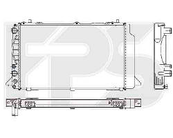 Радиатор охлаждения AUDI 80 / 90 91-94