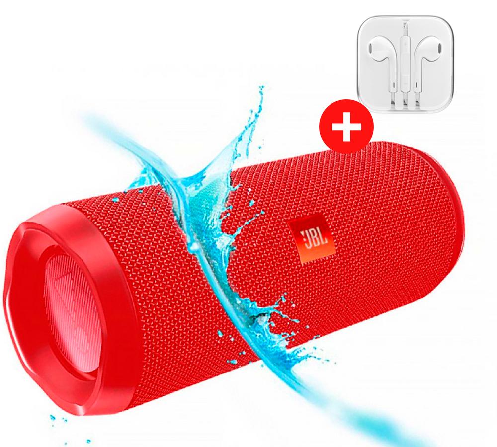 Колонка JBL Flip 4 Quality Replica. Красный. Red